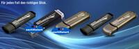 OPTIMAL vertreibt exklusiv die weltweit einzigen hardwareverschlüsselten USB-Sticks mit BSI-Zertifizierung