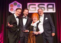 """GSA """"Hall of Fame"""": Margit Hertlein und René Borbonus wurden für ihre herausragende Performance und Qualität als Speaker geehrt"""