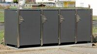 Mülltonnenbox mit bestem Bedienkomfort