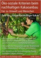 Öko-soziale Kriterien beim nachhaltigen Kakaoanbau