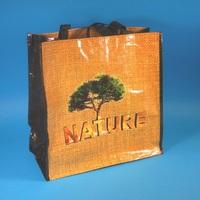 Umweltfreundliche Mehrwegtragetaschen aus PP Woven Recyclingmaterial