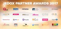 """Jedox gibt Sieger des """"2017 Partner of the Year Award"""" auf dem Global Partner Summit bekannt"""