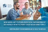 New Work mit psychologischem Empowerment - Der Mensch im Mittelpunkt einer neuen Arbeitswelt
