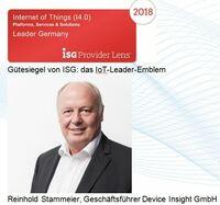 "Device Insight ist zum dritten Mal in Folge ""IoT-Leader Germany"""