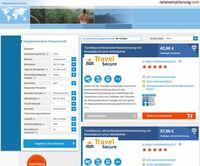 Neues Tool zum Vergleich von Reiserücktrittsversicherungen