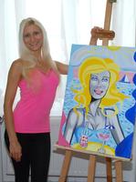 Tanja Playner und ihr Pop Art Kunst-Impstoff