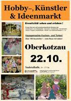 Hobby-, Künstler- und Ideenmarkt in Oberkotzau am 22.10.2017