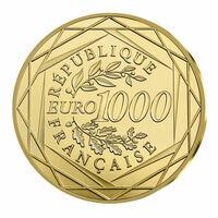 Frankreich bringt neue 1000-Euro-Goldmünze heraus: Marianne 2017