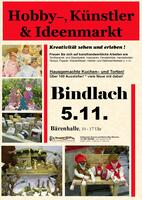 Hobby-, Künstler- und Ideenmarkt in Bindlach am 5.11.2017