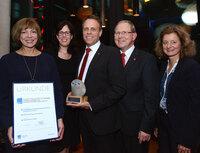 Machwürth Team und Wienerberger erhalten  BDVT-Trainingspreis in Silber