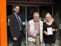 Volksbank Rüsselsheim: Die Gewinner der Wollknäuel-Rallye