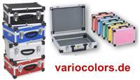 VarioColors bringt Aufbewahrungskoffer für Verpackung und Präsentation