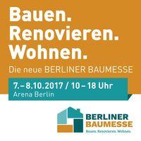 Die neue BERLINER BAUMESSE feiert am 07. und 08. Oktober Premiere