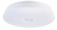 RGBW-LED-Deckenleuchte mit Lichtwecker, Lautsprecher, App-Steuerung, 1.500 lm und 24 Watt