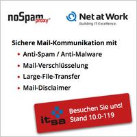 Secure-Mail-Lösung NoSpamProxy in Version 12.1 auf der it-sa