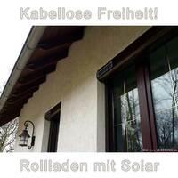 Solar-Rollladen: Schnell montiert und spart Kosten