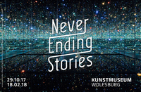NEVER ENDING STORIES. The Loop in Art, Film, Architecture, Music, Literature and Cultural History   from October 29, 2017 in the Kunstmuseum Wolfsburg
