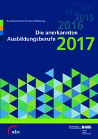 Die anerkannten Ausbildungsberufe 2017