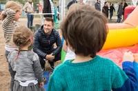 Kindersportevent am Gleisdreieck begeistert Nachbarschaft
