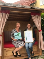 Hoteldorf Hollerhöfe mit dem Nachhaltigkeitssiegel GreenSign ausgezeichnet
