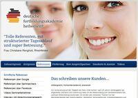 Referenzen der Deutschen Fortbildungsakademie Heilwesen