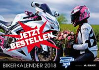 Motorrad-Ecke Bikerkalender 2018 – Facebook Bildervoting für den guten Zweck!
