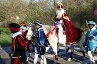 Insel von Sinterklaas: der heilige Nikolaus legt auf Texel an
