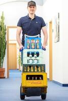 1. bundesweiter Bürolieferdienst für Getränke, Obst und Snacks