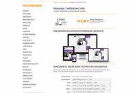 Homepage 1 anklickbare Seite - Gestaltung ab 149 Euro
