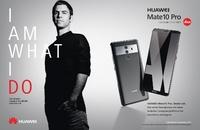 HUAWEI startet umfangreiche Marketingoffensive und geht neue Wege mit dem Launch des HUAWEI Mate10 Pro