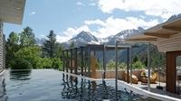 Natürlicher Luxus mit Bergblick