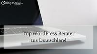 43 Top WordPress-Berater aus Deutschland