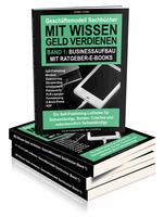 showimage Ratgeber: Geld verdienen und Eigenmarketing mit Sachbüchern / Band 1