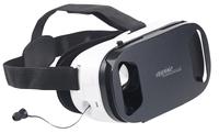 auvisio VR-Brille mit In-Ear-Headset und Touch-Bedienung
