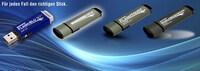 Bis zu 256GB:  Hochwertige USB 3.0 Sticks mit Schreibschutz und Seriennummer