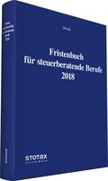 Fristenbuch 2018 - Fristen und Termine optimal erfassen und dokumentieren!