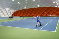 Spielen wie die Profis: Neue Tennishalle am Kempinski Hotel Frankfurt