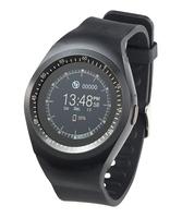 2in1-Uhren-Handy und Smartwatch für iOS und Android, rundes Display