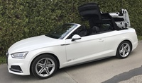 SmartTOP additional soft top control is now available for the new Audi A5 Cabriolet