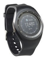 simvalley MOBILE 2in1-Smartwatch für iOS & Android