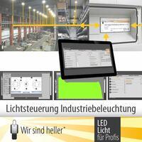 Smart Building: Lichtsteuerung in der Industriebeleuchtung