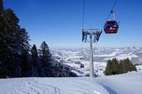 """Das Allgäu um Oberstaufen ist ein wahres """"Schneeloch"""""""