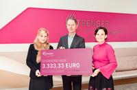 Strenger Stiftung: Spende zum 30. Jubiläum der Tagesstätte der Wohnungslosenhilfe LB