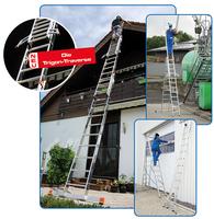 Steigtechnik-Spezialist KRAUSE präsentierte auf der A+A in Düsseldorf innovative Lösungen zur DIN EN 131