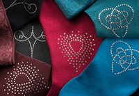 showimage mediven Kompressionsstrümpfe mit Motiven aus Swarovski® Kristallen