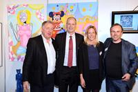Heinz Playner bringt internationale Kunst auf die Kunstmesse MAG in der Schweiz