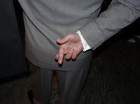"""Der hat die Finger gehoben…"""