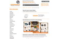 Flyer DL hoch 6 Seiten Wickel - Gestaltung ab 129 Euro