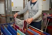 Wäsche trocknen im Heizungskeller: schlecht für die Anlage - und den Geldbeutel