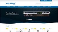 Alles auf einen Blick: Synthax erneuert Online-Shop mit intuitivem Bestellvorgang, umfassenden Produktinfos und eigenem Blog